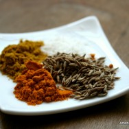 Curry, curcuma et cumin