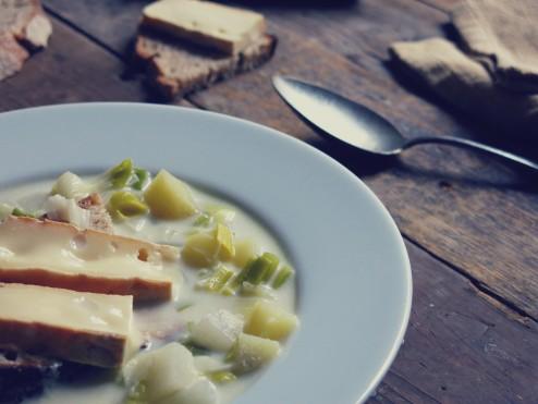Soupe blanche savoyarde