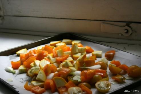 Légumes jaunes à rôtir