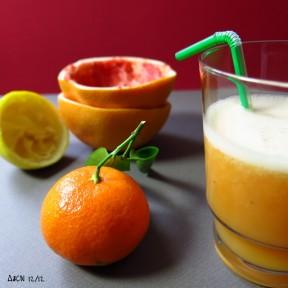 Agrumes pour smoothie