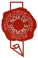 sceau rouge AOC Noix de Grenoble