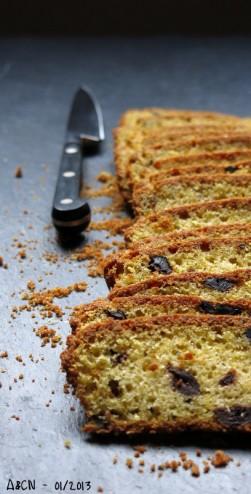 Gâteau pamplemousse olives noires