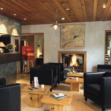 Salon de l'hôtel du Golf Corrençon