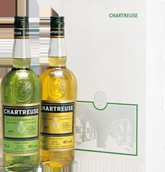 Chartreuse verte et jaune