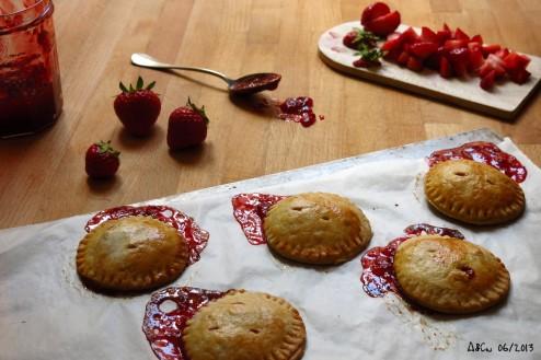 Petites tourtes aux fraises