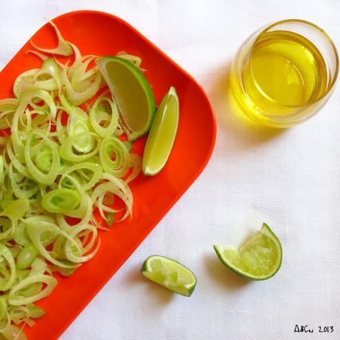 Salade de fenouil et citron