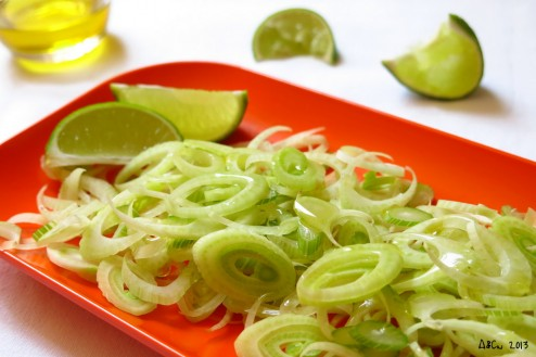 Salade fenouil citron vert