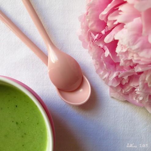 Soupe de concombre à la menthe