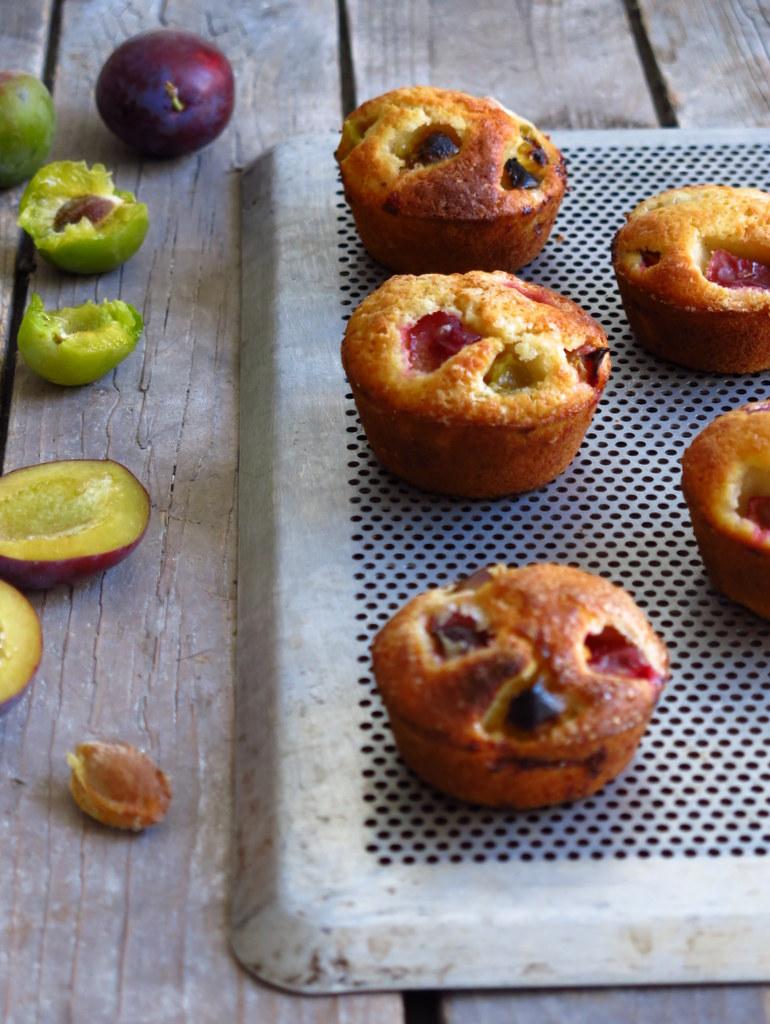 Muffins aux prunes