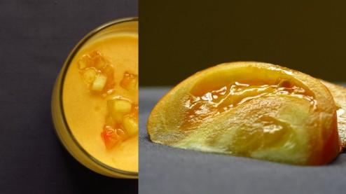 tomate ananas gaspacho