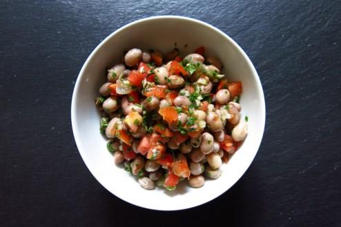 Salade de borlotto