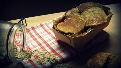 pancakes aux flocons d'avoines