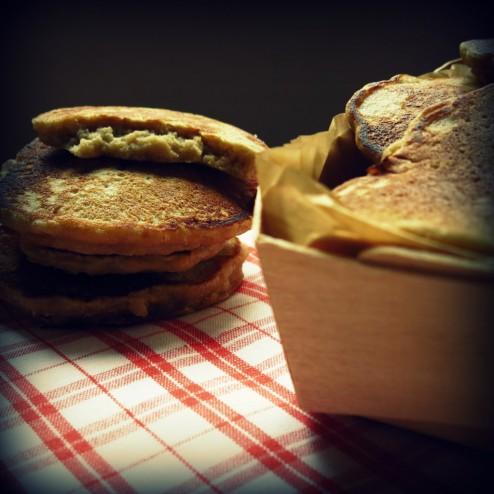pancakes flocons avoine