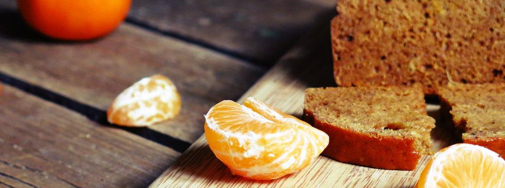 pain d'épice purée de clémentine