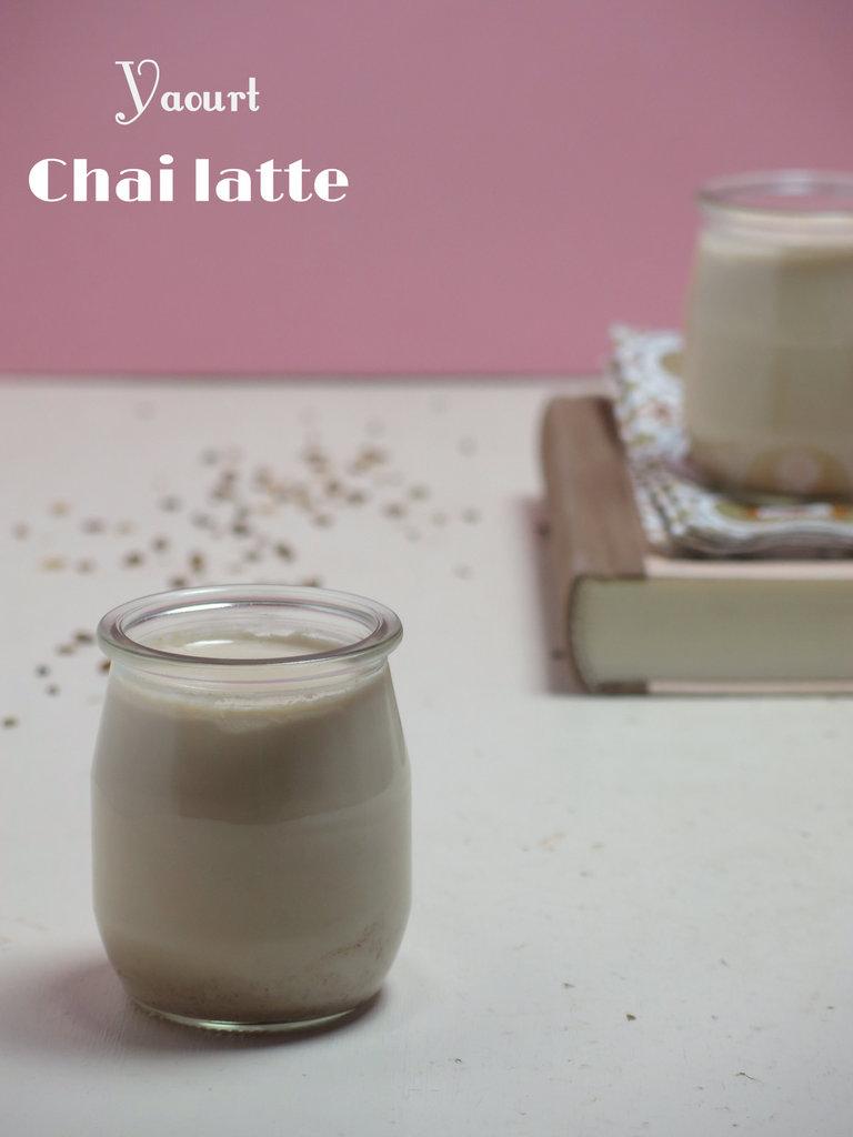 yaourt chai latte
