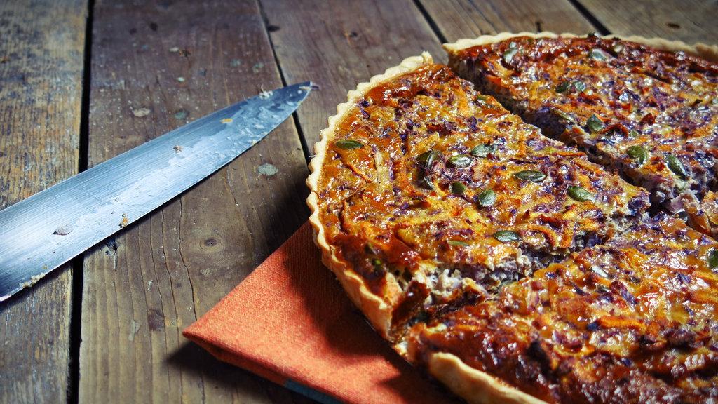 Tarte Carotte Et Chou Rouge Aux épices - Cuisiner du chou rouge