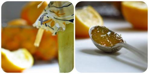 pot de bergamote curd et cuillère de maemelade