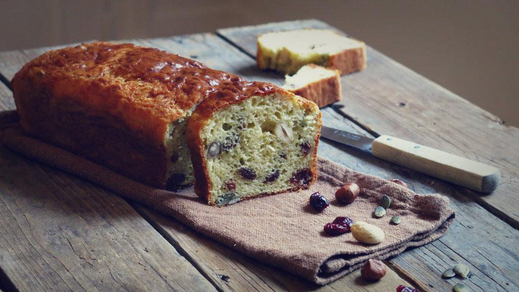 Cake Sal Ef Bf Bd Aux Raisins