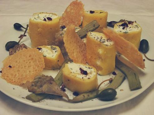 cannelloni de polenta, une recette d'Alice B