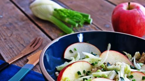 Salade de quinoa, fenouil et pomme