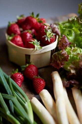 fraises bio et local