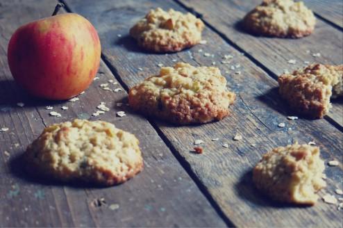 cookies tendre et moelleux avoine et pomme