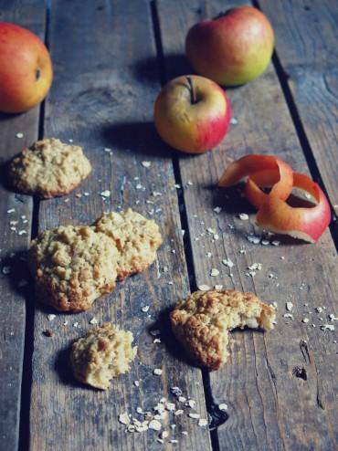cookies moelleux pomme avoine