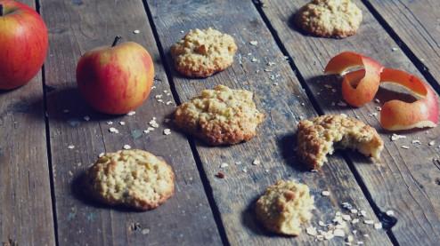 moelleux cookies pomme avoine