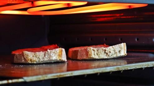tartines grillées au four