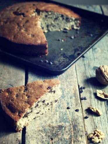 gâteau noix chocolat sarrasin