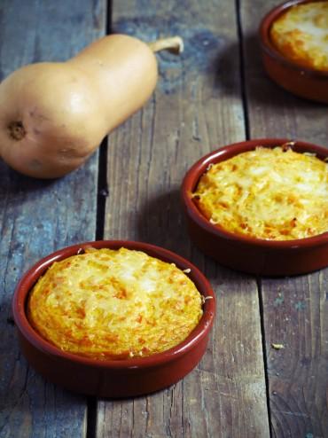 Petits gratins de butternut la polenta artichaut et - Comment cuire la polenta ...
