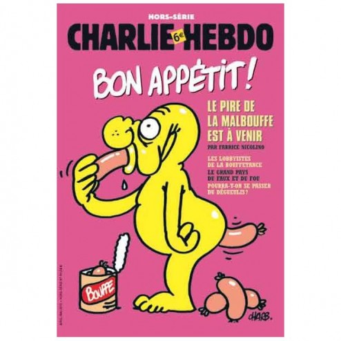 Charlie Hebdo Malbouffe