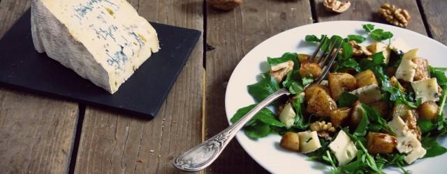 Salade de panais rôtis  et cresson