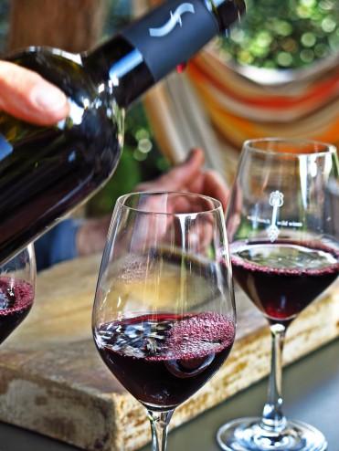 verre de vin du Roussillon