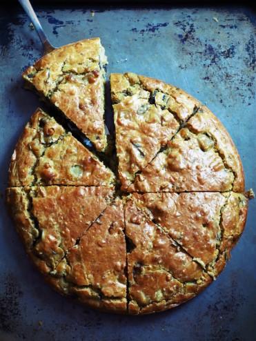 Cake oriental à l'aubergine