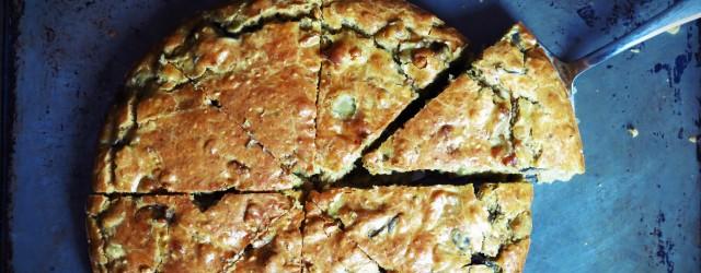 cake aubergine et saveurs orientales