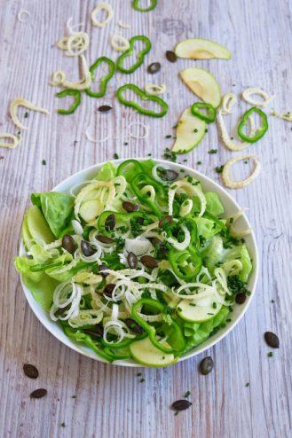 green salade d'été