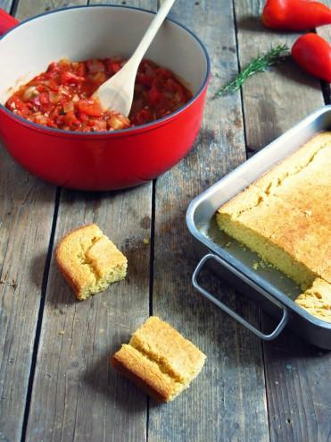 Corn bread à la polenta