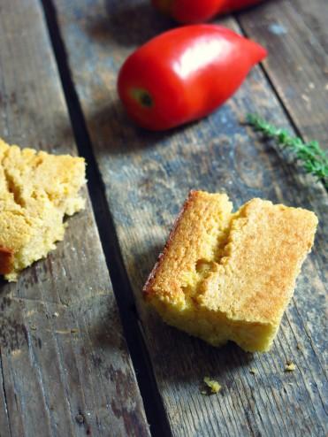 pain de mais à la polenta