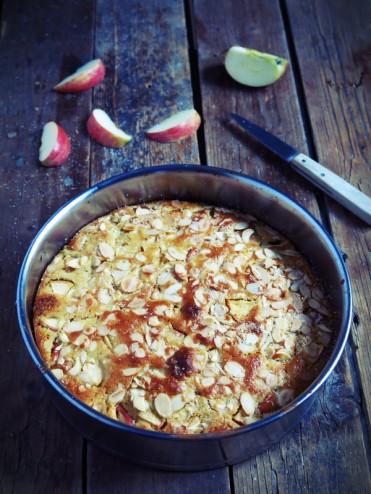 gâteau pomme kefir
