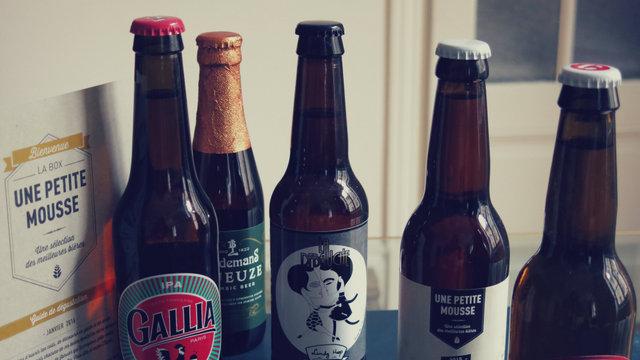 Une petite mousse bières et guide