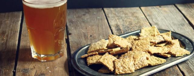crackers à la bière