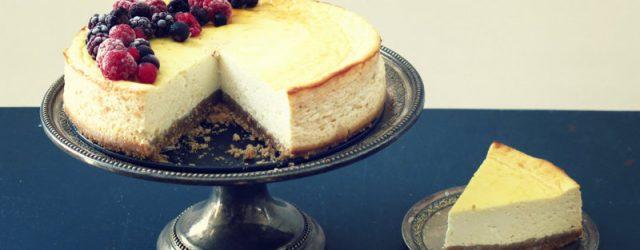 cheesecake eau de fleur d'oranger