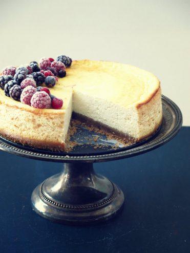 cheesecake léger faisselle yaourt grec