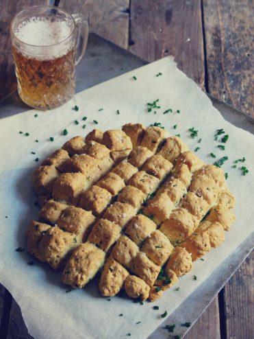 pain à la bière à partager