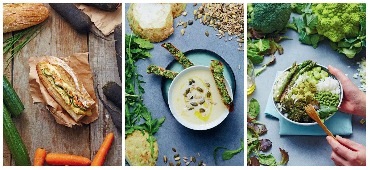 Planche de recettes Cuisine végétarienne pour tout le monde - Céline Mennetrier