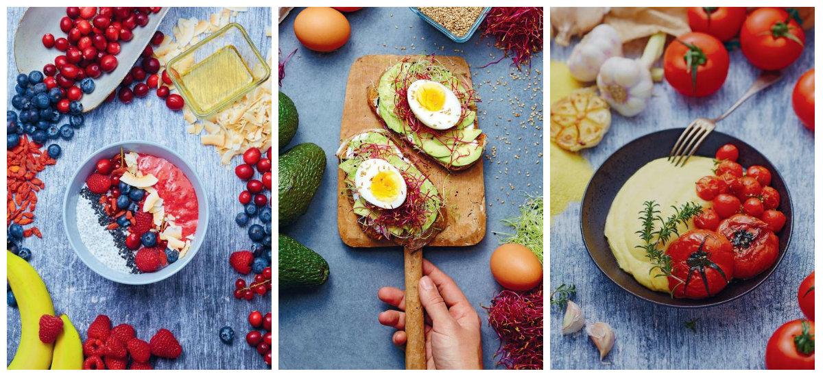 Planche recettes de Cuisine végétarienne pour tout le monde - Céline Mennetrier