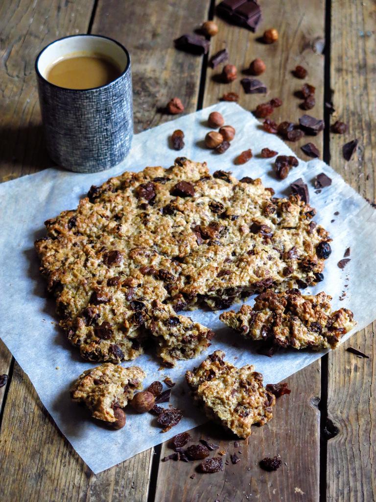Gros cookie sans beurre