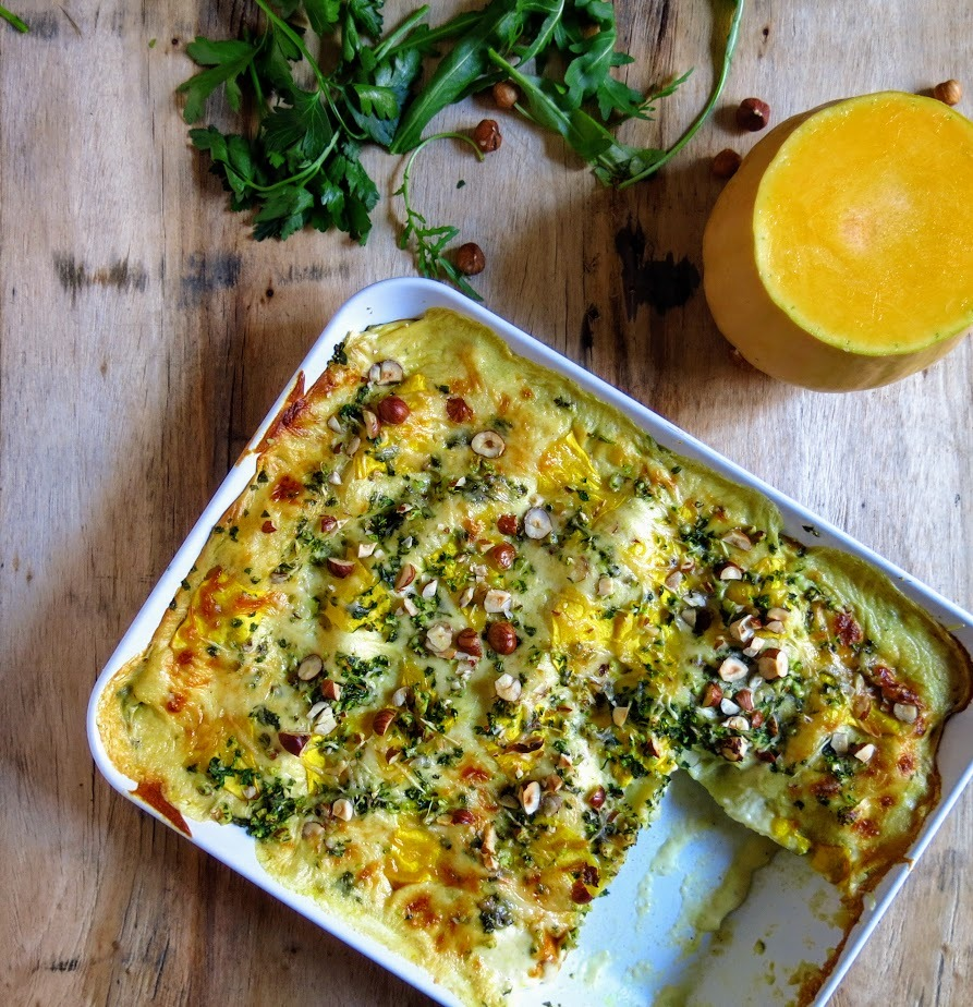 Lasagnes veggie à la butternut