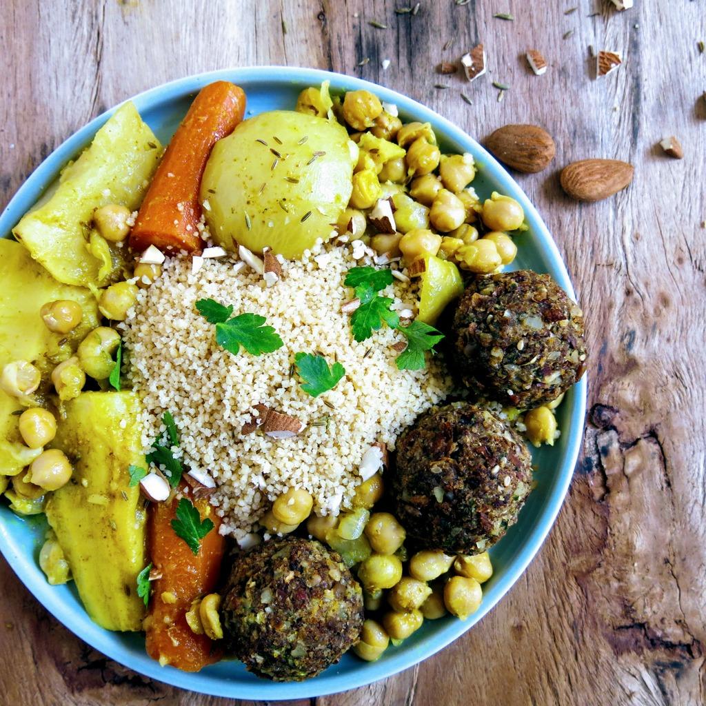 Boulettes couscous végétarien